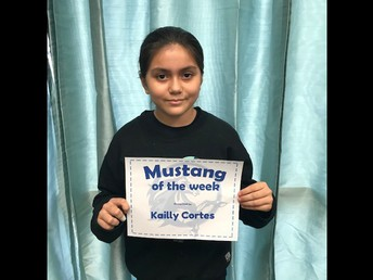 6th Grade Student of the Week