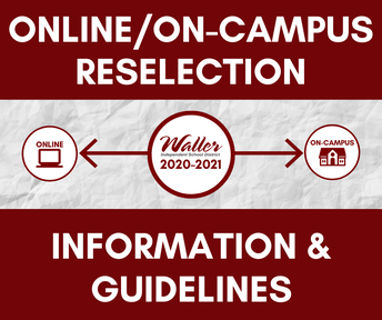 Online/On-Campus Reselection