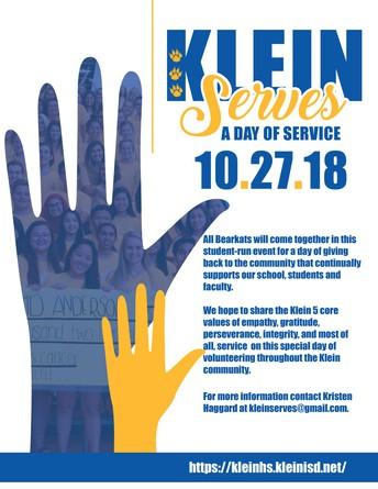 Come one, Come All to a day of Service!