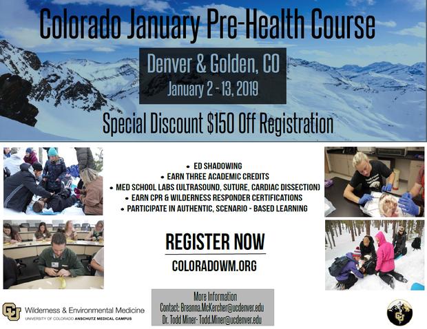 Pre-Health Advising Newsletter