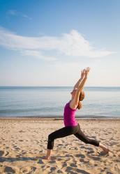 Beach Yoga with Maria Santoferraro, E-RYT 500