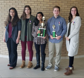 MSA WINS FIRST PLACE FOR ITS HIGH SCHOOL MATH TEAM!!!