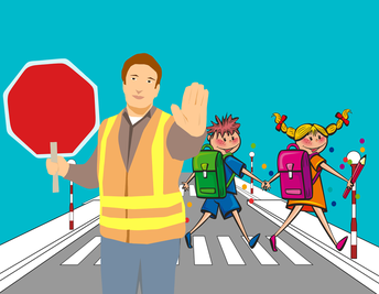 CROSSING GUARD NEEDED!