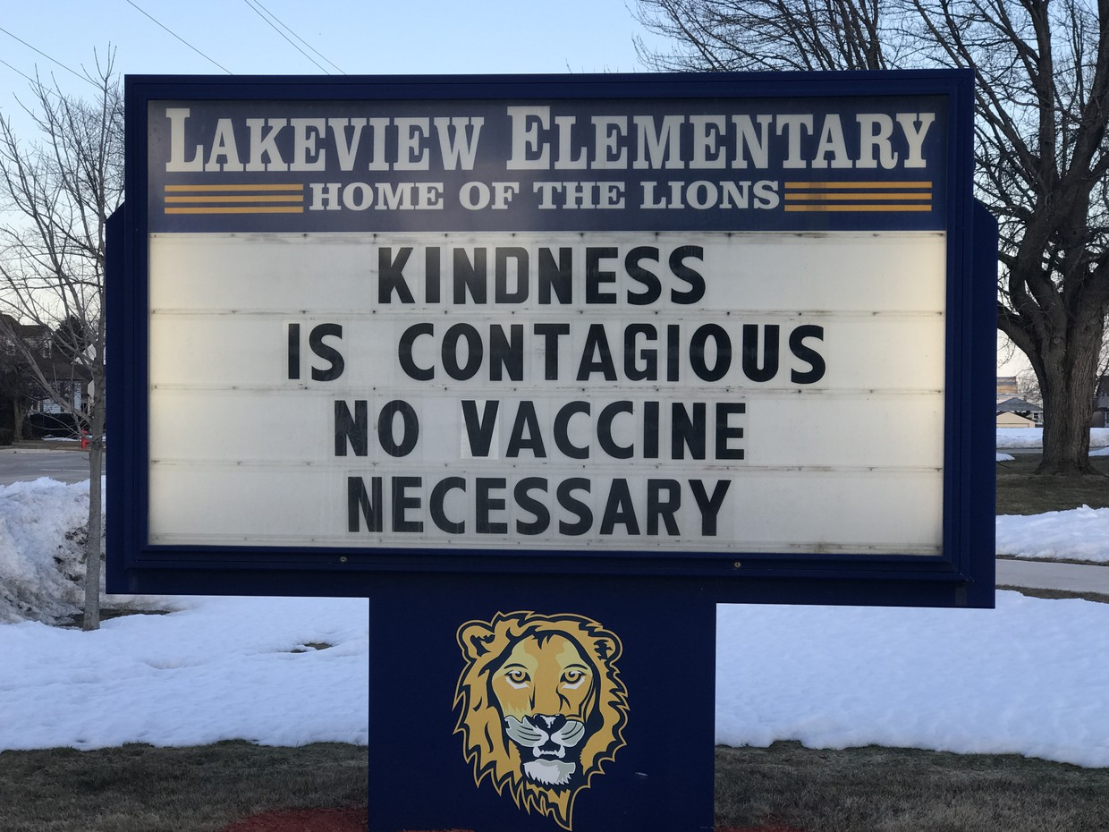 Lakeview sign