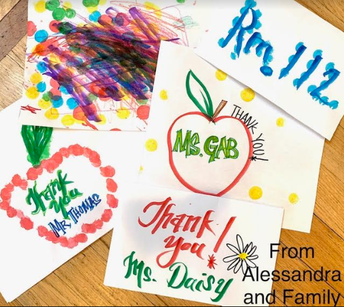 From, Alessandra and Family