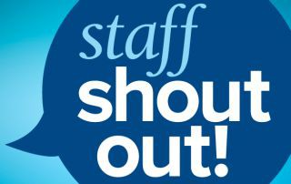 "OLSON STAFF ""SHOUT OUT"""