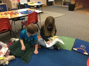 Preschool Reading Practice