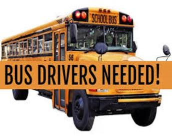 HELP!! BUS DRIVERS NEEDED