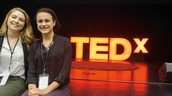 HHS students helped with the TEDX event