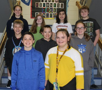 HMS February Students of the Month