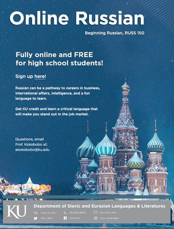 Any Outgoing 8th Grader Can Learn Russian This Summer!