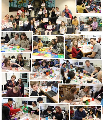 Views of Elementary Families STEAM+Coding