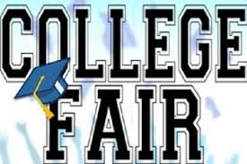 Upcoming College Fairs...