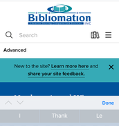 Tap in the search box to search by title, author, or keyword.