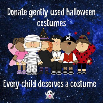 Halloween Costume Donation