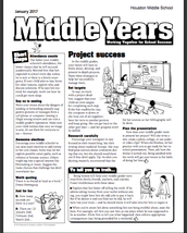 Middle Years: Working Together for School Success