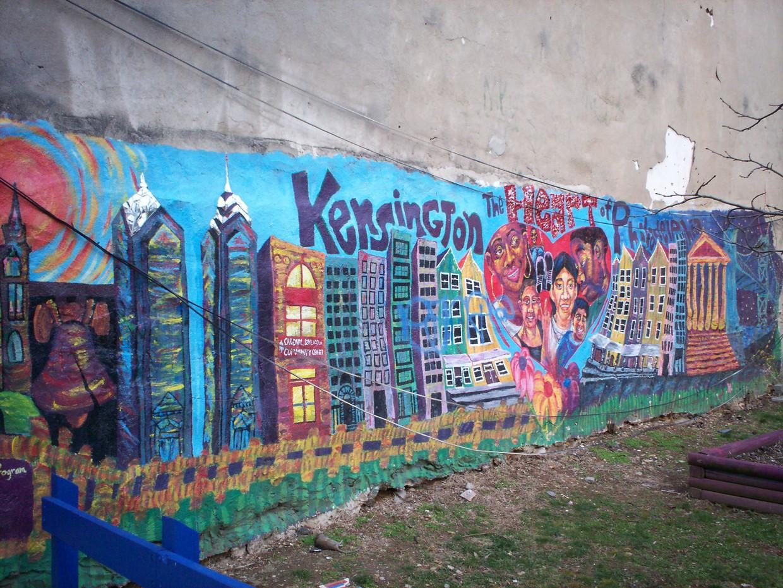 Mural in Kensington