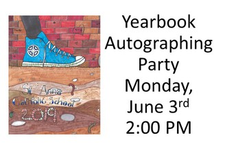 Yearbook Autograph Party