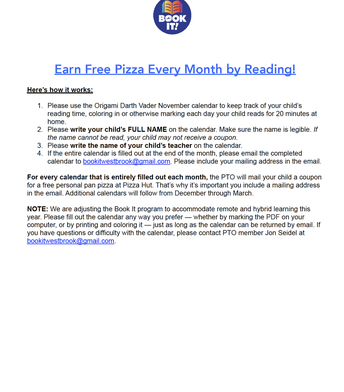 Earn Free Pizza Every Month by Reading