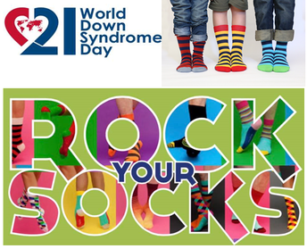 ROCK YOUR SOCKS ON MARCH 20TH
