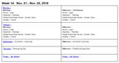 #BCTLT Schedule 11/21 - 11/22/2016
