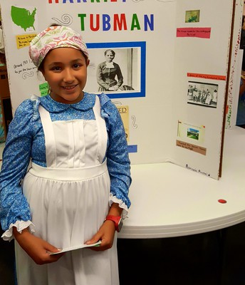 Aaronia Ruybalid as Harriet Tubman