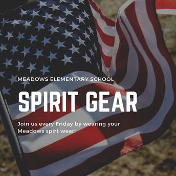 Purchase Meadows Spirit Gear!