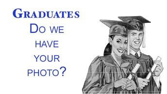 Senior Yearbook Photos Due!