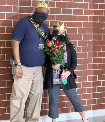 Faculty King and Queeen