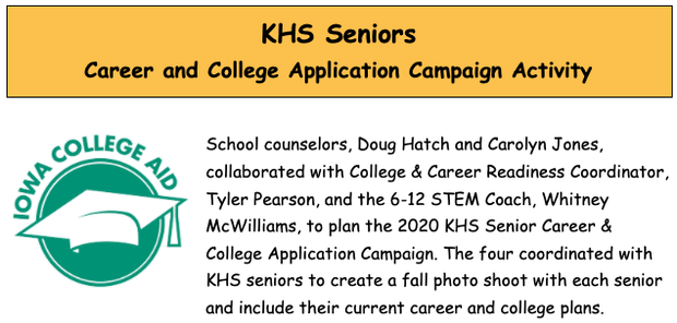 KHS Career and College Application Campaign