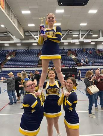 North Cheer Team Wins State Stunt Title