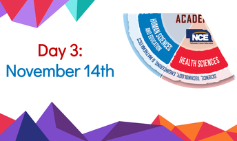 Day 3: November 14th - Human Sciences & Education + Health Sciences