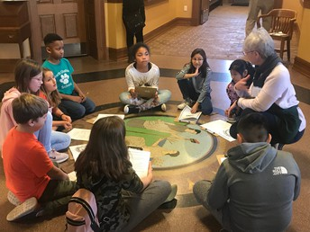 4th Grade Field Trip to Pittsboro Courthouse