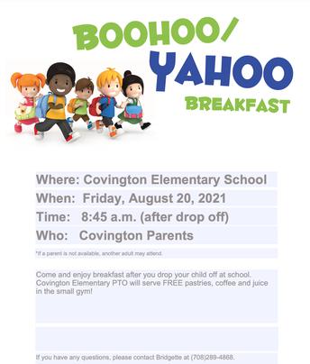 Covington 'Boo Hoo' Breakfast