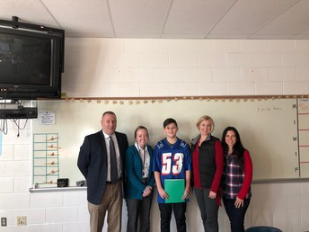 Barry wins Country Bank's  Innovative Student Award...