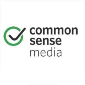 This is an image of Common Sense Media's icon and a link to its website.