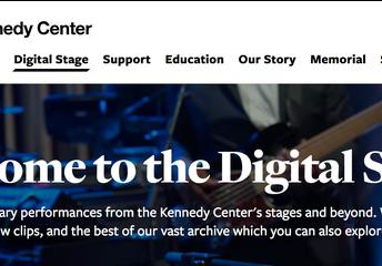 Kennedy Center Digital Stage