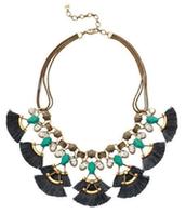 Lotus Tassel Necklace