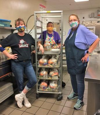Thank You, Duluth School Lunch Staff
