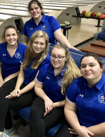 Great first half for QCHS bowling squads