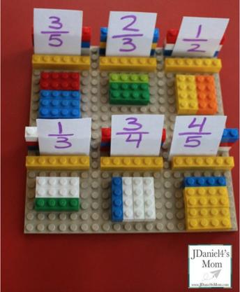 Math Skills: Fractions Games - Grades 4-8