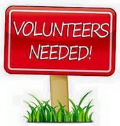 Cafeteria Volunteers Needed