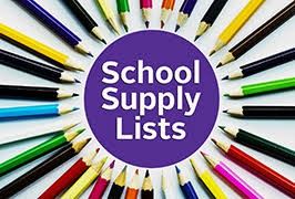 School Supply Lists (Listas De Útiles Escolares)