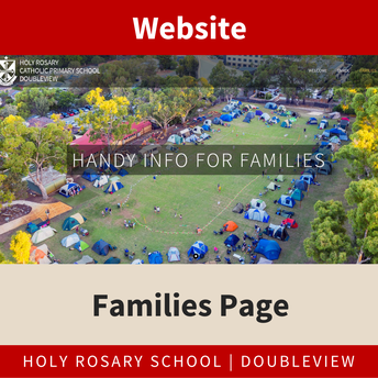 Website - Families Page