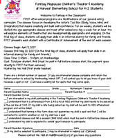 Theater Academy (Deadline Wed., March 29)