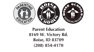 BOISE SCHOOL DISTRICT PARENTING CLASSES - FALL 2020