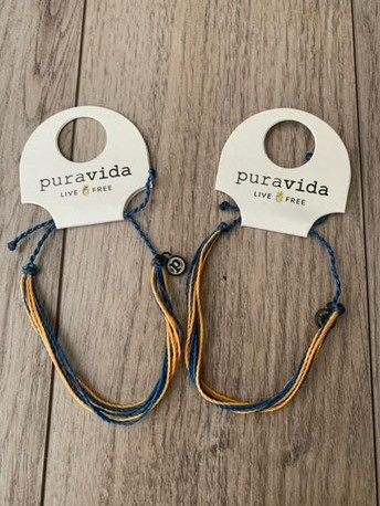 Ozaukee Warrior Booster Club Pura Vida Bracelet fundraiser