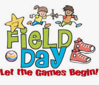Field Day Reminders: May 1st