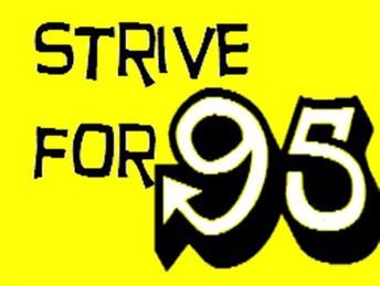 Attendance Goal-Strive for 95
