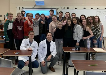 School of Pharmacy Visit